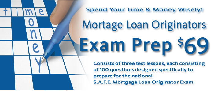 Online Loan Originator Continuing Exam Prep